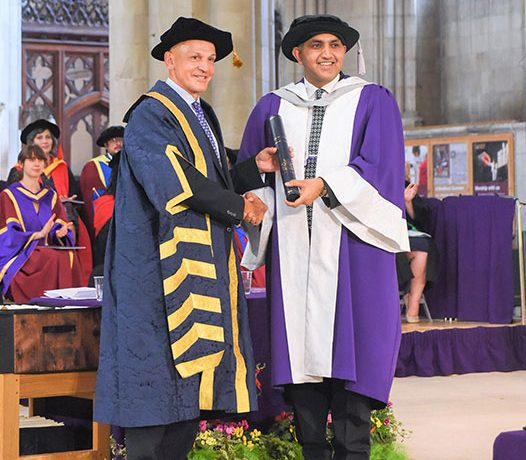 FAISAL MUSHTAQ CONFERRED HONORARY DOCTORATE OF EDUCATION BY A LEADING UK UNIVERSITY