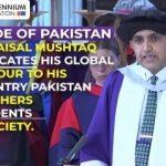 Dr. Faisal Mushtaq's Historic Graduation Key Note Speech on Circle of Life