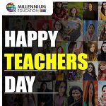 The Millennium Schools Celebrating Teachers Day